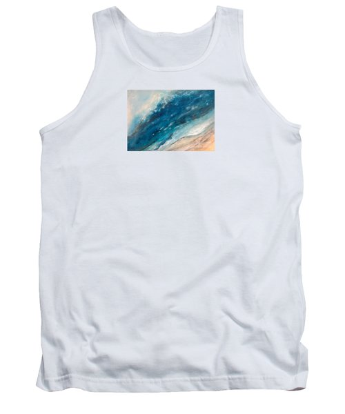 Ebb And Flow Tank Top by Valerie Travers