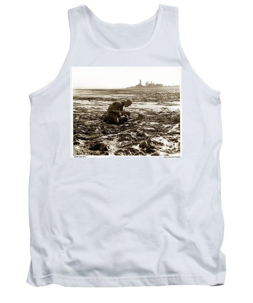 Ed Ricketts At Point Wilson Lighthouse In Port Townsend Wa July 1930 Tank Top