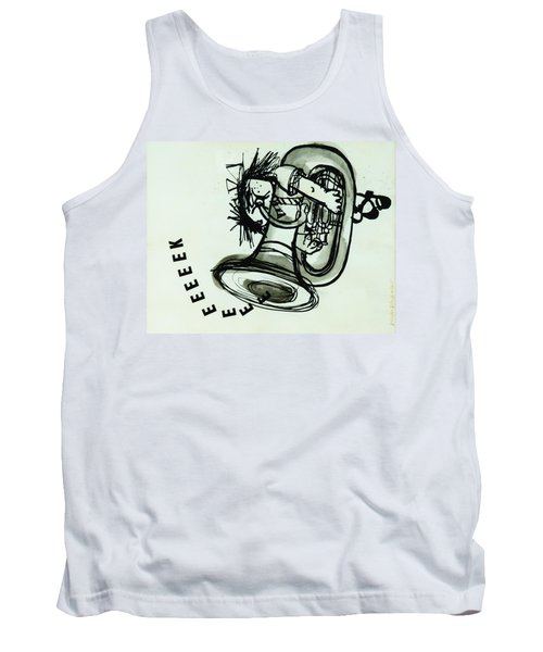 Eeeeeeek! Ink On Paper Tank Top