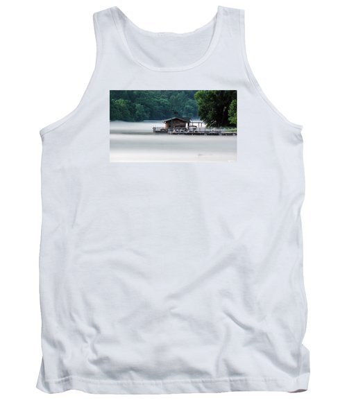 Tank Top featuring the photograph Eerie Day by Elaine Malott