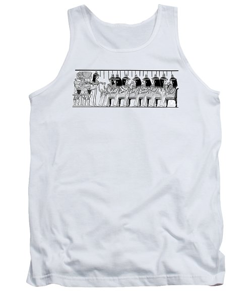Egyptian Ladies 1886 Drawing Tank Top by Phil Cardamone