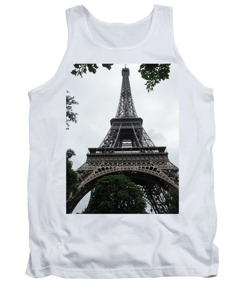 Tank Top featuring the photograph Eiffel Tower by Pema Hou