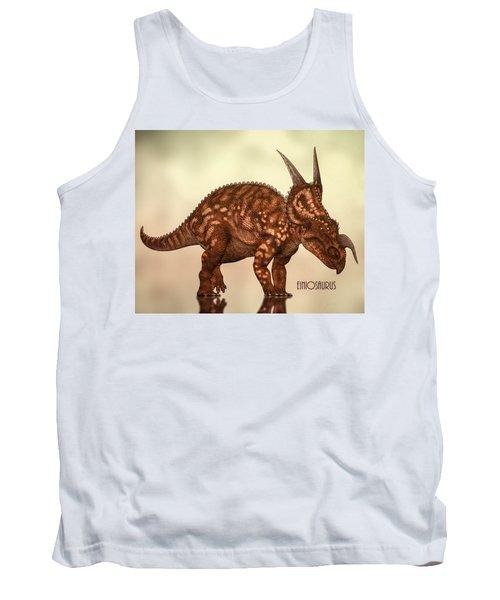 Einiosaurus Tank Top by Bob Orsillo