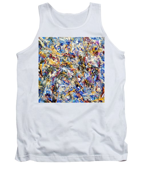 Tank Top featuring the painting Eldorado by Dominic Piperata