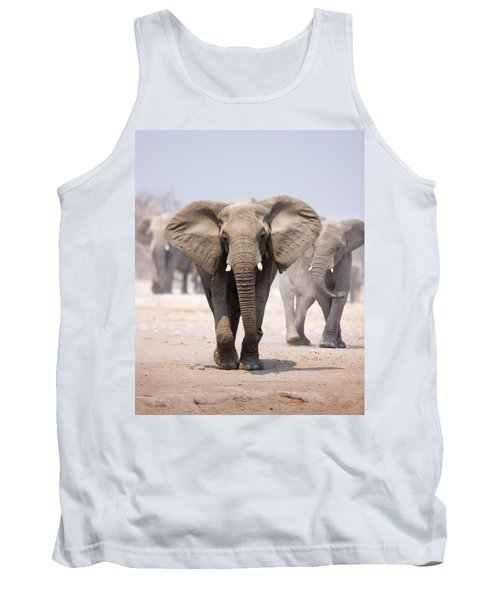 Elephant Bathing Tank Top