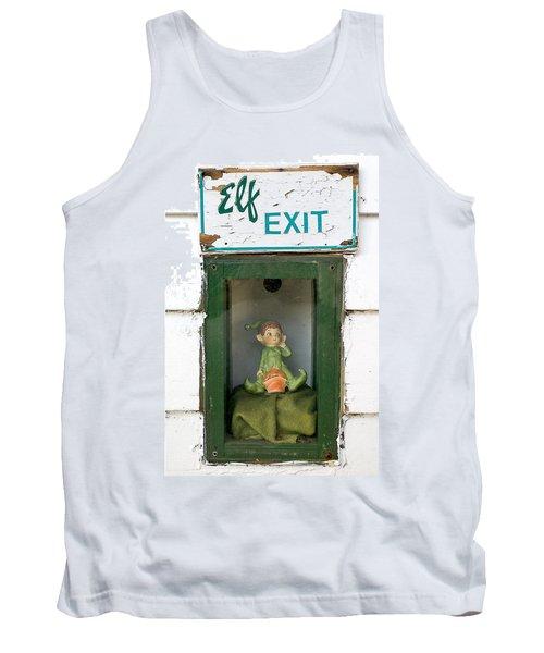 elf exit, Dubuque, Iowa Tank Top