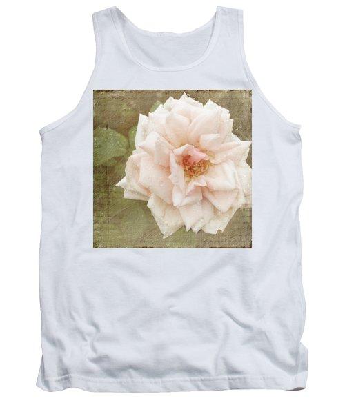 Elie Beauvillain Rose Textured Art Tank Top
