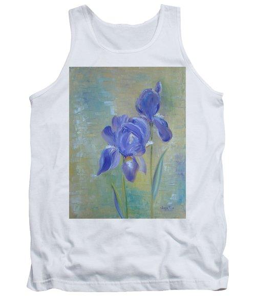 Elizabeth's Irises Tank Top