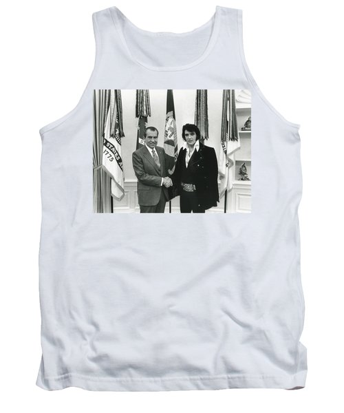 Elvis And Nixon Tank Top