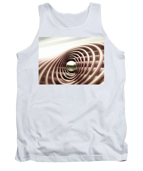 Tank Top featuring the digital art Emanate by John Alexander