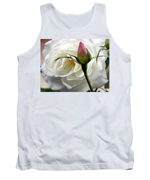 Tank Top featuring the photograph Emergence by Deb Halloran