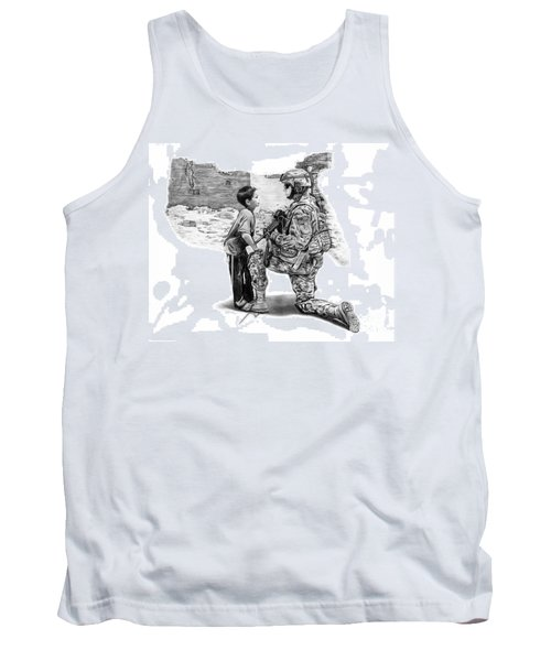 Empty Pockets  Tank Top by Peter Piatt