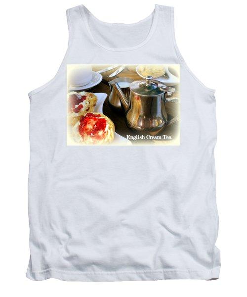 English Cream Tea Tank Top