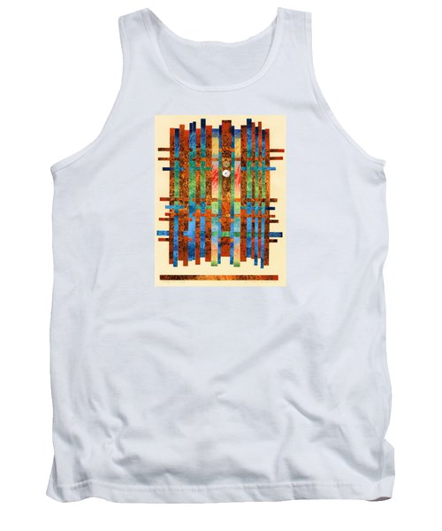 Entering The Temple Tank Top