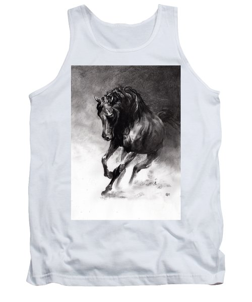 Equine Tank Top by Paul Davenport
