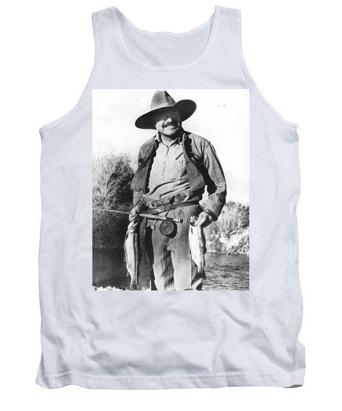 Ernest Hemingway Fishing Tank Top