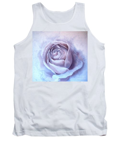 Tank Top featuring the painting Ethereal Rose by Sandra Phryce-Jones