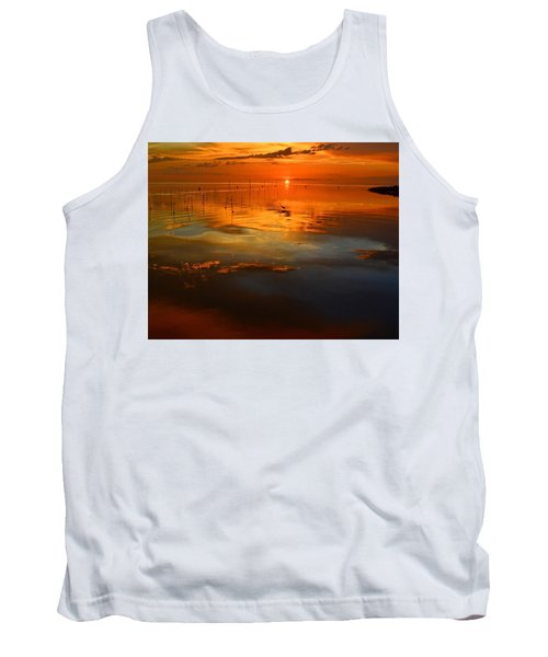 Evening Fishing Tank Top