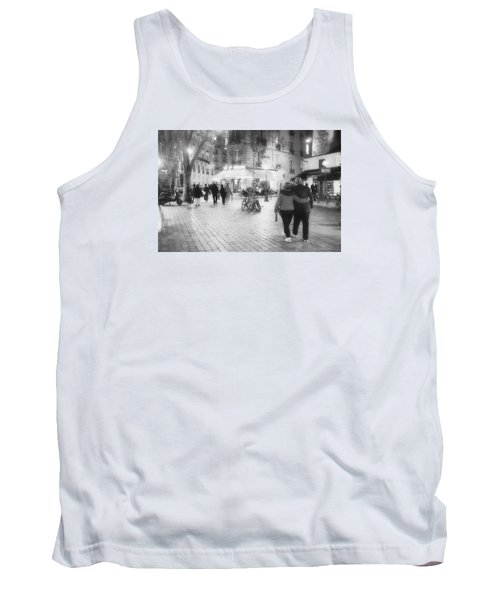Evening Stroll In Paris Tank Top by Hugh Smith