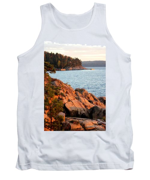 Evening Sun By The Waterfront Tank Top