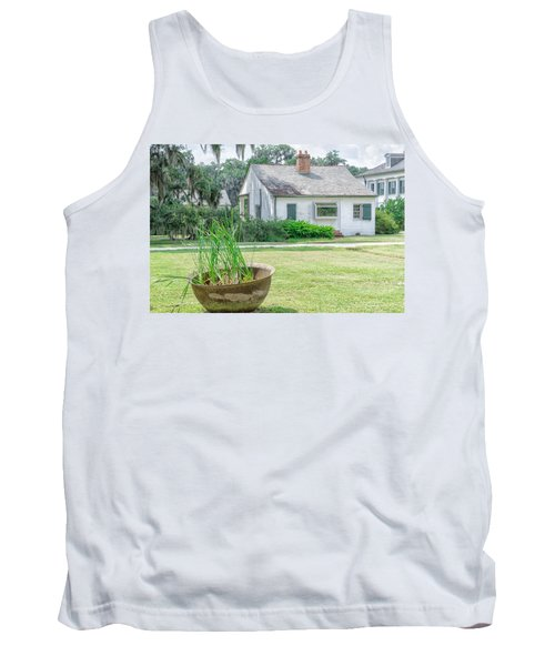Evergreen Plantation Back Tank Top