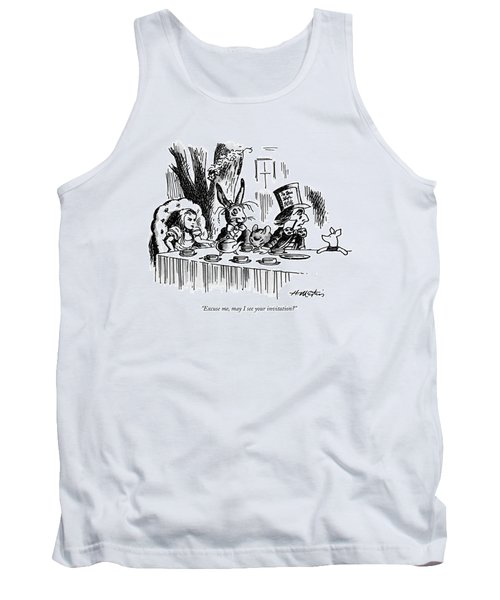 Excuse Me, May I See Your Invitation? Tank Top