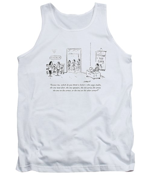 Excuse Me, Which Do You Think Is Better - This Tank Top