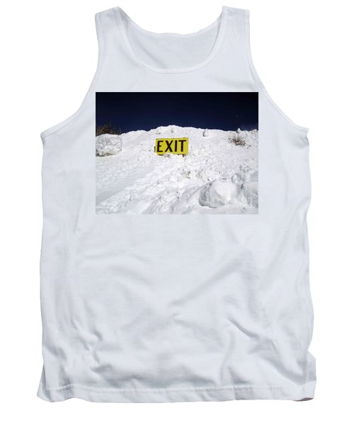 Exit Tank Top by Fiona Kennard