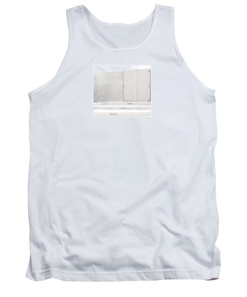 Tank Top featuring the photograph Exit Only by Darryl Dalton
