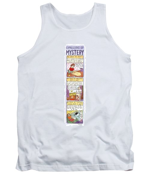 Expressions Of Mystery Tank Top