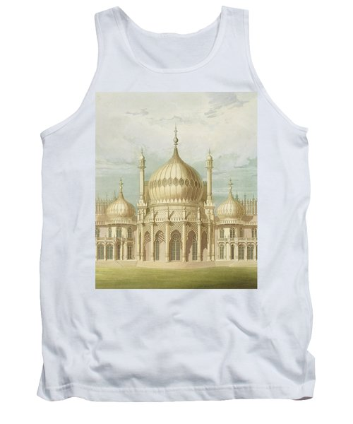 Exterior Of The Saloon From Views Of The Royal Pavilion Tank Top
