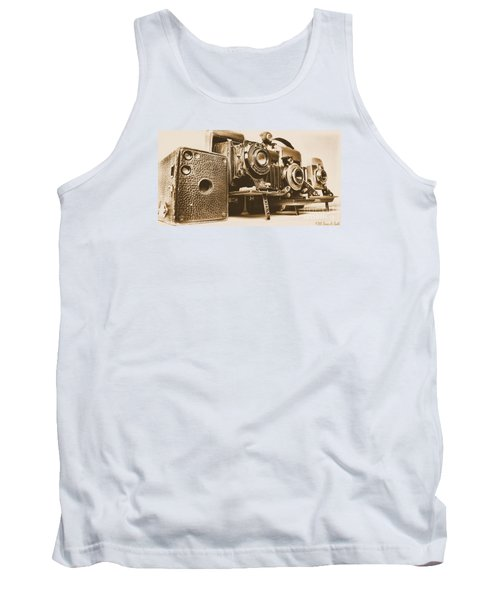 Eyes Of The Past Tank Top
