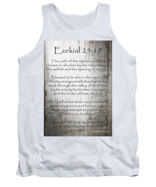 Ezekial 25 17 Tank Top
