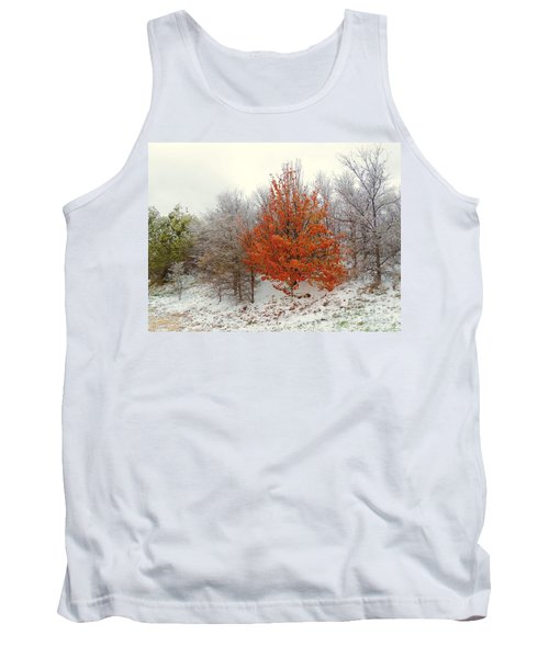 Fall And Winter Tank Top by Robert ONeil