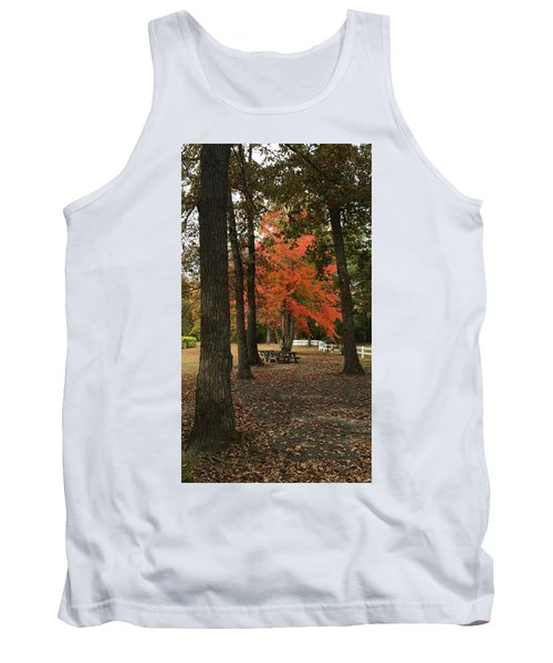 Fall Brings Changes  Tank Top