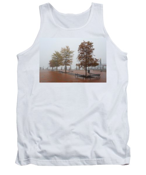 Fall Fog Tank Top
