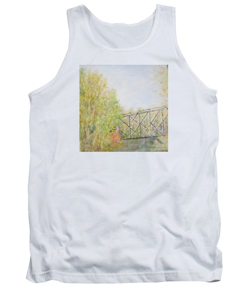 Fall Foliage And Bridge In Nh Tank Top