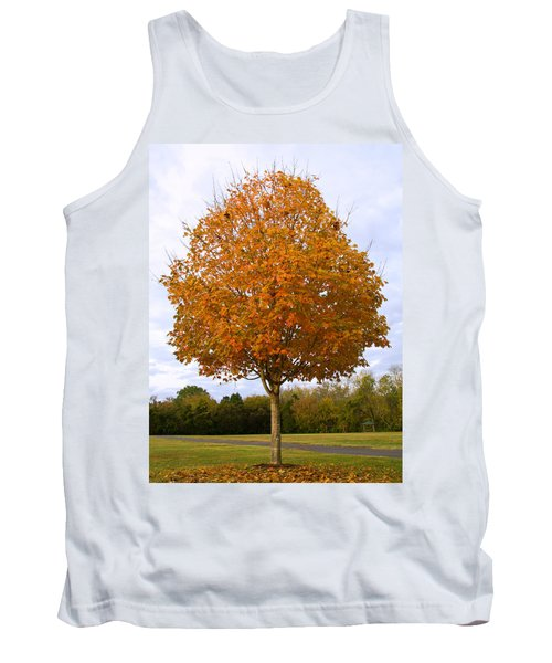 Fall Sugar Maple Tank Top by Melinda Fawver