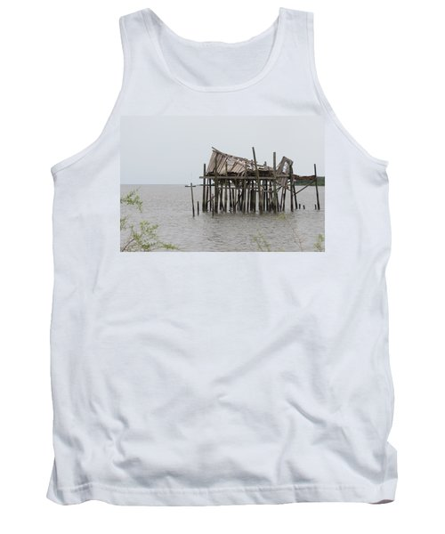 Fallen Deckhouse Tank Top by Fortunate Findings Shirley Dickerson