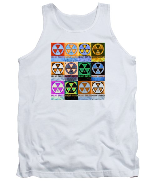 Fallout Shelter Mosaic Tank Top by Stephen Stookey