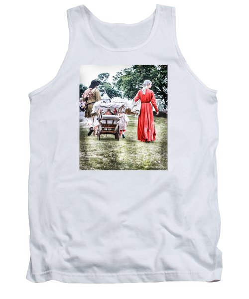 Tank Top featuring the photograph Family Rollin' by Stwayne Keubrick