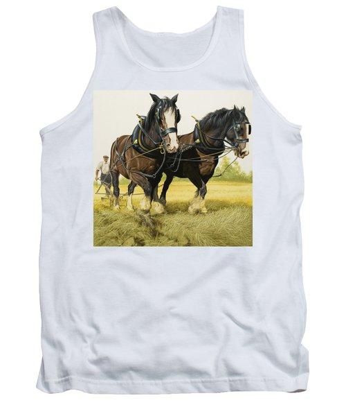 Farm Horses Tank Top