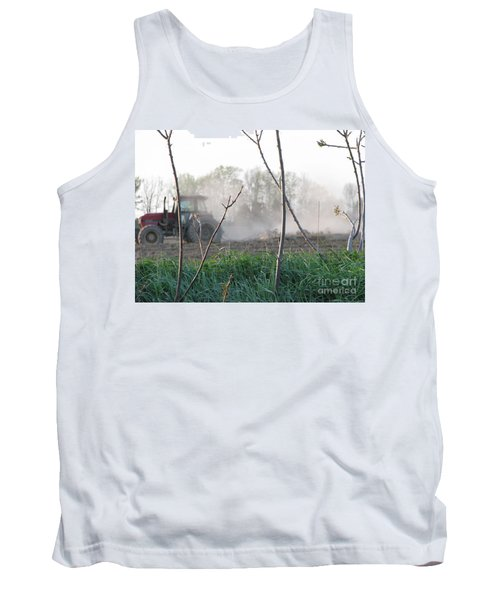Tank Top featuring the photograph Farm Life  by Michael Krek