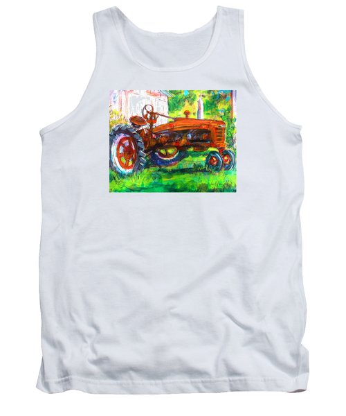 Farmall Tractor Tank Top by Les Leffingwell