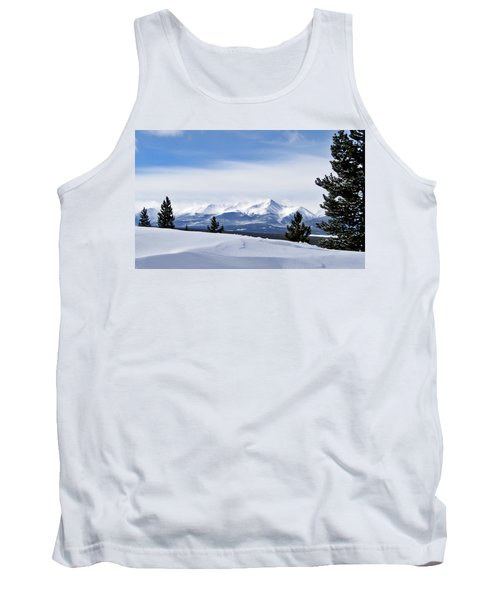 Tank Top featuring the photograph February Wind by Jeremy Rhoades