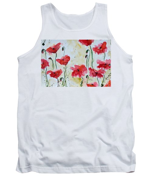 Feel The Summer 1 - Poppies Tank Top
