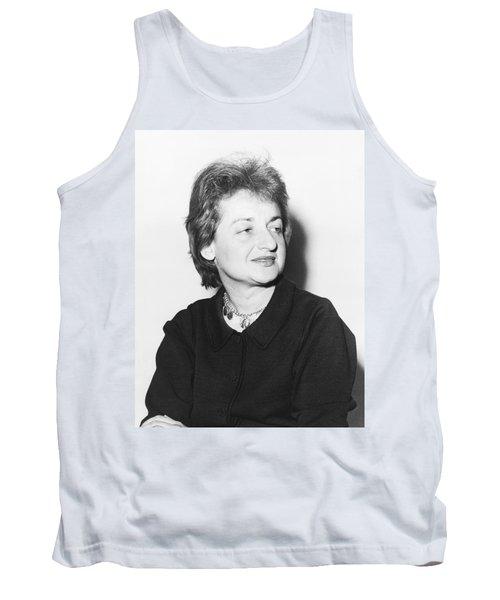 Feminist Betty Friedan Tank Top