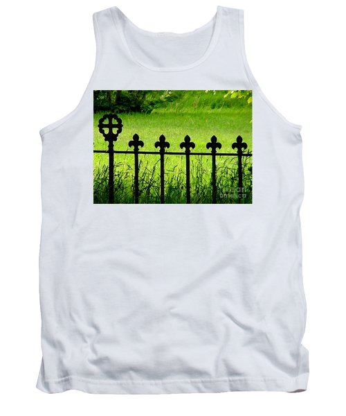 Fence And Cross Tank Top