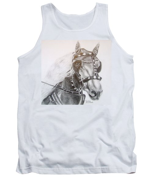 Fer A Cheval Tank Top