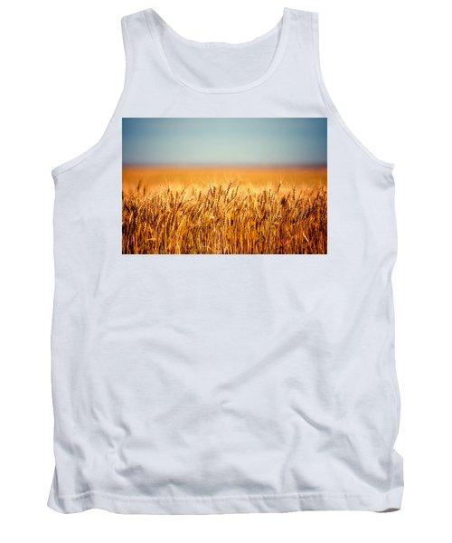 Field Of Wheat Tank Top